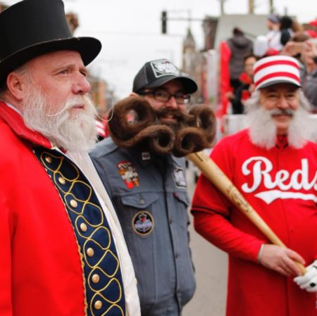 Cincinnati Beard Barons Reds Home Opener